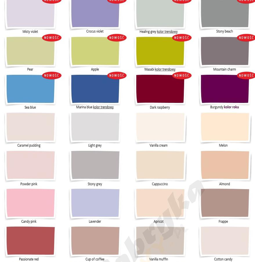 Beckers Designer Colour Wszystkie Kolory 25l